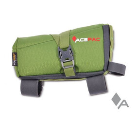 Acepac Roll Fuel Frame Bag Borsello verde/nero